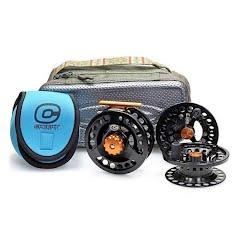 Cheeky Tyro 350 Triple Play Fly Reel and Spool Bundle Image