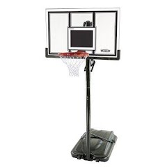 Lifetime Adjustable Portable Basketball Hoop (54-Inch Polycarbonate) Image