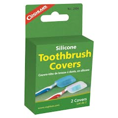 Coghlans Silicone Toothbrush Covers (2 Pack) Image