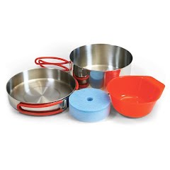 Coghlans Stainless Steel Mess Kit Image