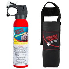 Counter Assault 8.1 oz Bear Deterrent with Belt Holster Image
