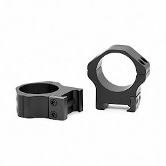 Warne Maxima 1 inch, PA, Low Matte Rings Image
