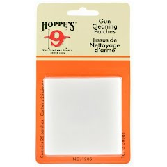 Hoppe's #5 Gun Cleaning Patches 16/12 Gauge 25 Count Image