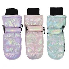Grand Sierra Toddler Girl's Shimmer Ski Mittens Image