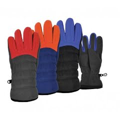 Grand Sierra Boy's Sport Fleece Casual Glove - Size 8-12 Image