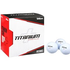 Wilson Sporting Goods Titanium Golf Ball - 18 Pack Image