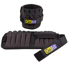 Gofit Padded 10 lb Ankle Weights Image
