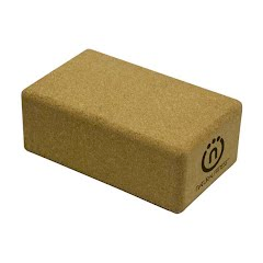 Natural Fitness Cork Yoga Block Image