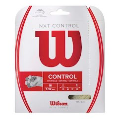 Wilson Sporting Goods NXT Control String Set - Natural, 16 GA (1.30mm) Image