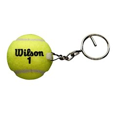 Wilson Sporting Goods Tennis Ball Keychain Image