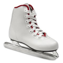 American Athletic Youth Girl`s Preschool Little Rocket Double Runner Ice Skate Image