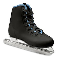 American Athletic Boys Preschool Little Rocket Double Runner Ice Skate Image