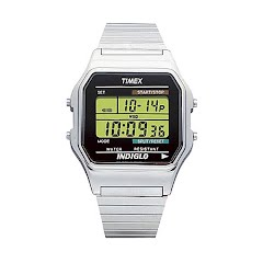 Timex Classic Digital in Stainless Image