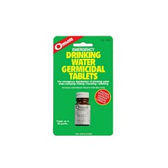 Coghlans Emergency Drinking Water Germicidal Tablets Image