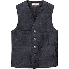 Filson Mens Mackinaw Wool Vest Image