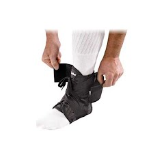 Mueller Soft Ankle Brace with Ultra Strap Image