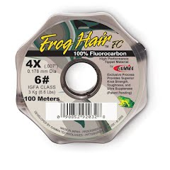 Frog Hair Fluorocarbon Tippet Material