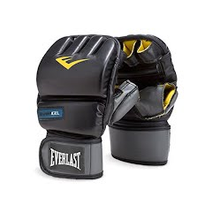 Everlast EverGel Wristwrap Heavy Bag Gloves Image
