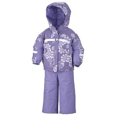 Columbia Girls Infant Brooklyn Reversible Snow Set