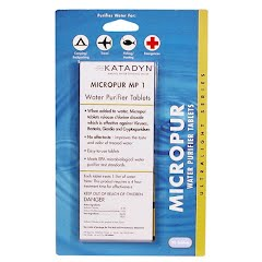 Katadyn Micropur MP1 Water Purification Tablets (20 pack) Image