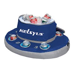 Swim Ways Kelsyus Floating Cooler Image
