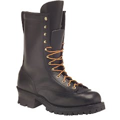 Hathorn Mens Explorer Lace-to-Toe Logger Boots Image
