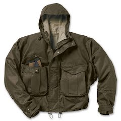 Filson Men`s Cover Cloth Wading Jacket Image