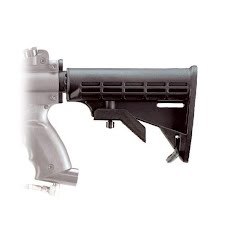 Tippmann A5 Collapsible Stock Image