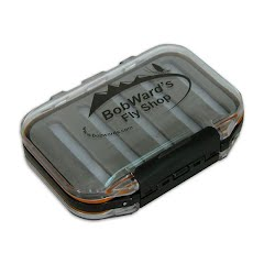 New Phase Bob Ward's Logo Waterproof Fly Box, Midge Size Image