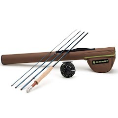 Redington Youth 4-Piece, 8ft 6in 5/6wt Crosswater Fly Fishing Outfit Image