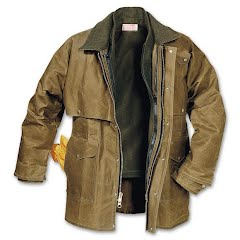 Filson Mens Tin Cloth Packer Coat Image