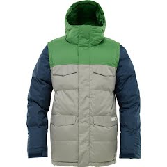 Burton Mens Deerfield Puff Snowboarding Jacket