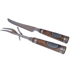 Teton Grill Co Classic Cabin Carving Set Image