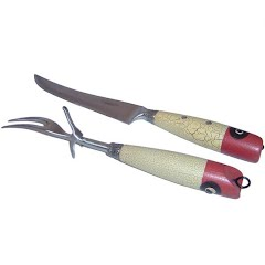 Teton Grill Co Classic Fishing Carving Set Image