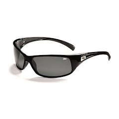 Bolle Recoil Sunglasses (Shiny Black/Polarized TNS) Image