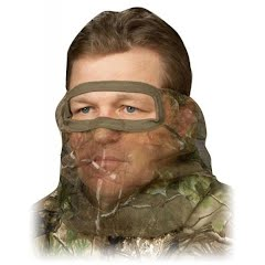 Hunter Specialties Flex Form II Net Facemask in Max-1 Camouflage Image