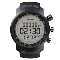 Suunto Elementum Terra Black Rubber/Light Display Wrist-top Computer Image