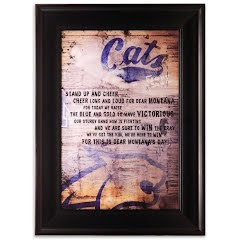 Cambridge Collection MSU Bobcat Fight Song Industrial Artwork Framed Image