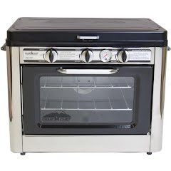 Camp Chef Outdoor Camp Oven 2 Burner Range and Stove Image