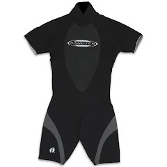 Hang Ten Mens Shorty 3/2mm Spring Wetsuit Image