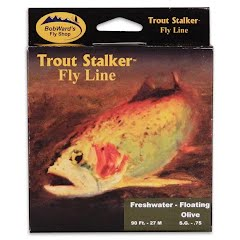 Stone Creek Bob Ward's Trout Stalker Weight Forward Floating Fresh Water Fly Line (7wt) Image