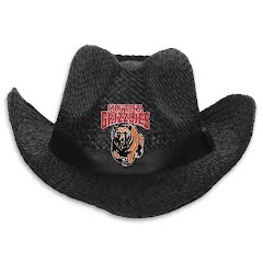Littlearth Mens U of M Grizzlies Black Cowboy Hat Image