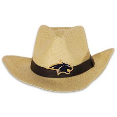 Littlearth Mens MSU Bobcat Natural Cowboy Hat Image