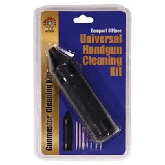 Dac Compact 8 Piece Universal Handgun Cleaning Kit Image