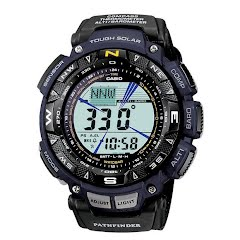 Casio Pathfinder Solar Power Watch (PAG240B-2) Image