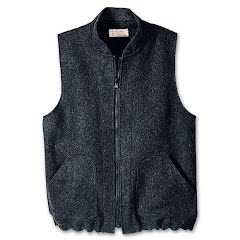 Filson Men`s Machinaw Wool Zip In Vest Liner Image