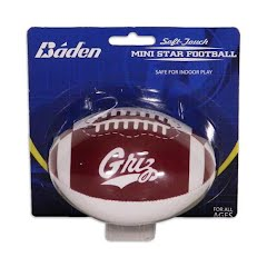 Baden Sports University of Montana Griz Soft-Touch 4-Inch Stuffed Football Image