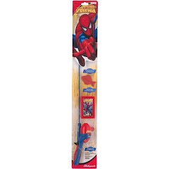 Shakespeare Kids Spiderman Fishing Rod/Tackle Box Kit Image
