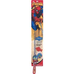 Shakespeare Kids Spiderman Lighted Fishing Rod Kit Image