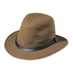 Filson Men`s Tin Cloth Packer Hat Image